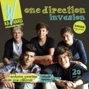 One Direction Invasion by kaWanku Cover