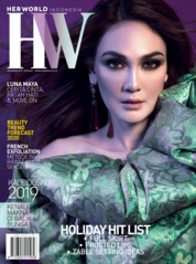 Cover Majalah her world Indonesia Desember 2019