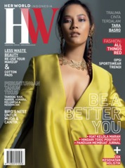 Cover Majalah her world Indonesia Januari 2020