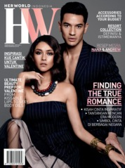 Cover Majalah her world Indonesia Februari 2020