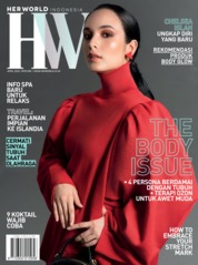Cover Majalah her world Indonesia April 2020