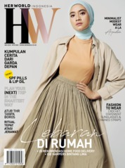 Cover Majalah her world Indonesia Mei 2020