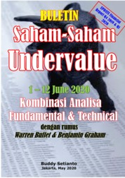 Buletin Saham-Saham Undervalue 01-12 JUN 2020 - Kombinasi Fundamental & Technical Analysis by Buddy Setianto Cover