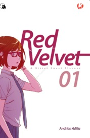 Cover Red Velvet vol. 01 oleh Andrian Adilia