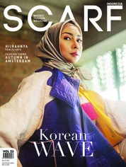 Cover Majalah SCARF INDONESIA ED 23 September 2018