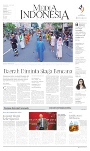 Media Indonesia Cover 15 December 2019