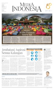 Cover Media Indonesia 14 Februari 2020