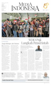 Cover Media Indonesia 16 Februari 2020