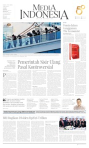 Cover Media Indonesia 19 Februari 2020