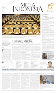 Cover Media Indonesia 28 Maret 2020