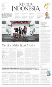 Cover Media Indonesia 30 Maret 2020