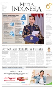 Cover Media Indonesia 01 April 2020