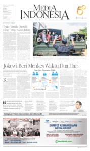 Cover Media Indonesia 03 April 2020