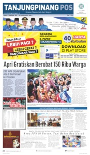 Tanjungpinang Pos Cover 17 February 2020