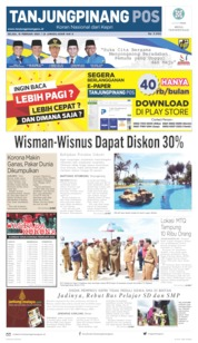 Tanjungpinang Pos Cover 18 February 2020
