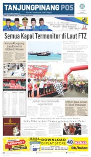 Tanjungpinang Pos Cover 21 February 2020