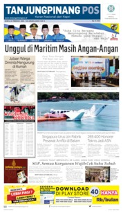 Tanjungpinang Pos Cover 22 February 2020