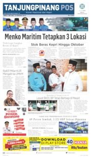 Tanjungpinang Pos Cover 11 May 2020
