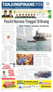 Tanjungpinang Pos Cover 12 May 2020