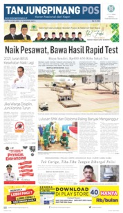 Tanjungpinang Pos Cover 14 May 2020