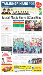 Tanjungpinang Pos Cover 16 May 2020