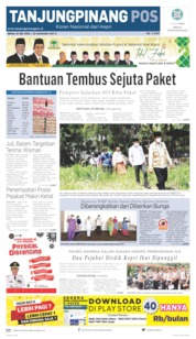 Tanjungpinang Pos Cover 18 May 2020