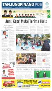 Tanjungpinang Pos Cover 19 May 2020