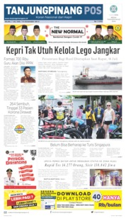 Tanjungpinang Pos Cover 07 July 2020