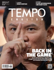 Cover Majalah TEMPO ENGLISH ED 1689 18-24 Februari 2020
