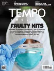 TEMPO ENGLISH ED 1701 / 12-18 MAY 2020 Magazine Cover ED 1701 12-18 May 2020