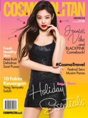 COSMOPOLITAN Indonesia Magazine Cover May 2019