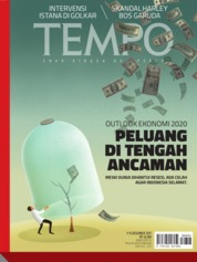 TEMPO ED 4554 Magazine Cover 09-15 December 2019