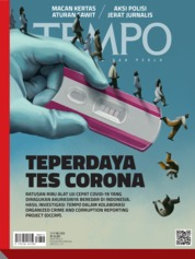 TEMPO ED 4576 Magazine Cover 11-17 May 2020