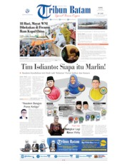 Tribun Batam Cover 09 July 2020