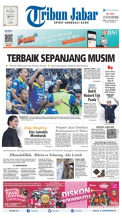 Cover Tribun Jabar 13 November 2019
