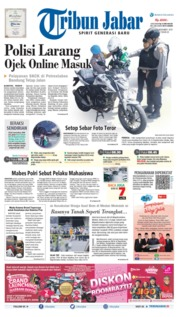 Tribun Jabar Cover 14 November 2019