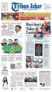 Tribun Jabar Cover 21 January 2020