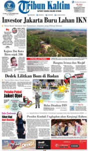 Tribun Kaltim Cover 14 November 2019