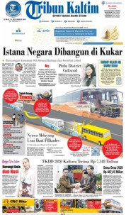 Tribun Kaltim Cover 15 November 2019