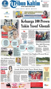 Tribun Kaltim Cover 09 December 2019