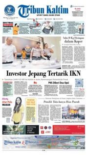 Tribun Kaltim Cover 21 January 2020