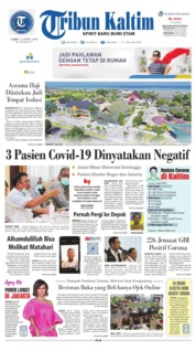 Tribun Kaltim Cover 04 April 2020