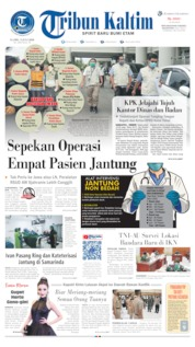 Tribun Kaltim Cover 09 July 2020