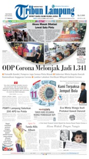 Tribun Lampung Cover 04 April 2020