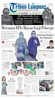 Cover Tribun Lampung 09 April 2020