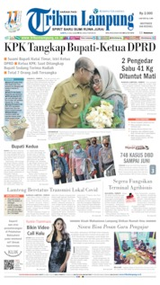 Tribun Lampung Cover 04 July 2020