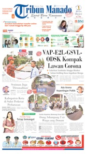 Cover Tribun Manado 09 April 2020