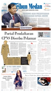 Cover Tribun Medan 12 November 2019