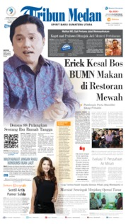 Cover Tribun Medan 21 November 2019