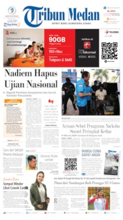 Tribun Medan Cover 12 December 2019
